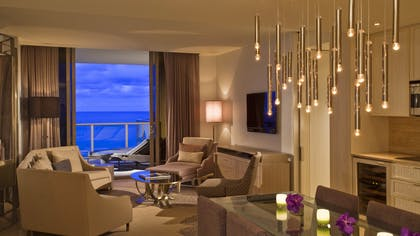 Living Room | Grand Luxe Oceanfront Suites | The St. Regis Bal Harbour Resort