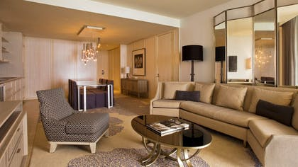 Living Room and Diningroom | Grand Luxe Oceanfront Suites | The St. Regis Bal Harbour Resort