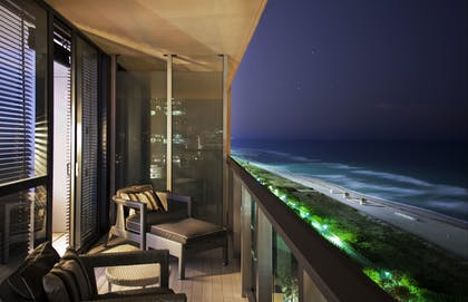 Balcony | Cool Corner Suite | W South Beach
