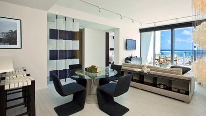 Living Room | Oasis Suite | W South Beach