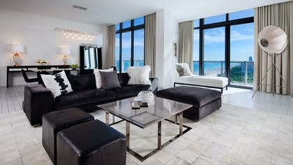 Living Room | Penthouse | W South Beach