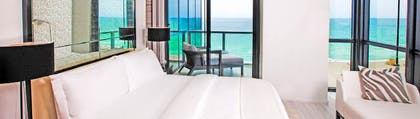 Bedroom | Wow Suite | W South Beach