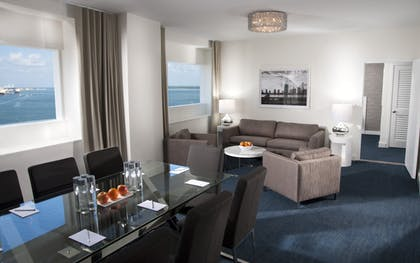 Living room | YVE Master Suite | YVE Hotel Miami