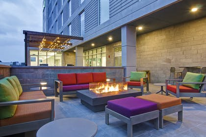 Exterior Fire Pit | Home2 Suites by Hilton Montreal Dorval