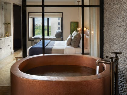 Copper Tub | Greenhouse Suite | 1 Hotel Central Park