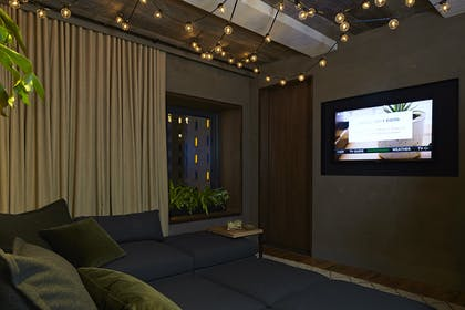 Media Room | Greenhouse Suite | 1 Hotel Central Park