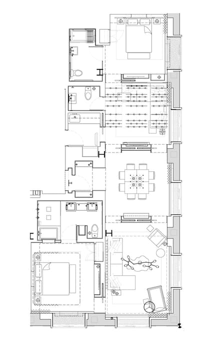 Floorplan | Greenhouse Suite | 1 Hotel Central Park