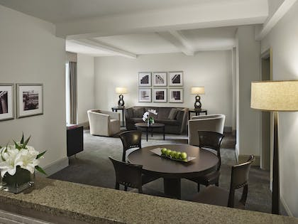 Living room | One Bedroom Suite | AKA Central Park