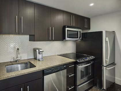 Kitchen | Two Bedroom Penthouse Suite | AKA Central Park