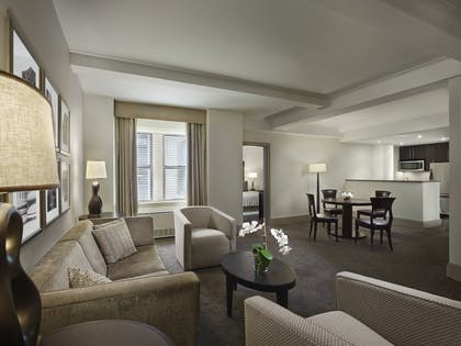 Living room | Two Bedroom Premium Suite | AKA Central Park