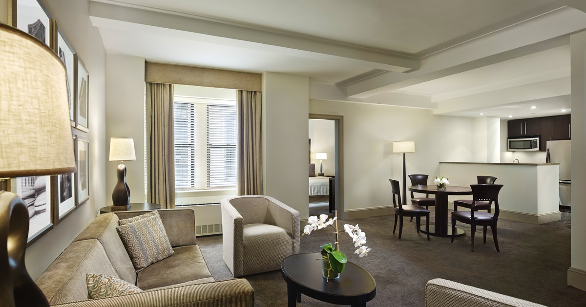 Two Bedroom Premium Suite At Aka Central Park Suiteness More Bedrooms At The Best Hotels