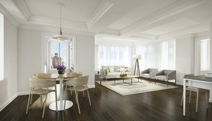 Living room | One Bedroom Premium Suite | AKA Sutton Place