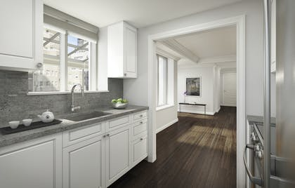 Kitchen | Two Bedroom Deluxe Suite | AKA Sutton Place