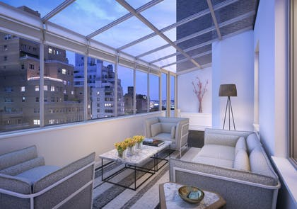 Solarium | Two Bedroom Duplex Penthouse Suite | AKA Sutton Place