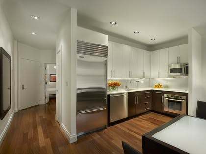 Kitchen | One Bedroom Suite with Den | AKA Times Square