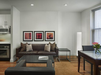 Living room | One Bedroom Suite | AKA Times Square