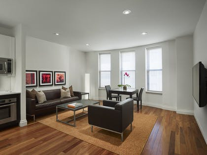 Living room | Two Bedroom Suite | AKA Times Square