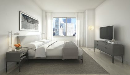 Bedroom | One Bedroom Premium Suite | AKA United Nations