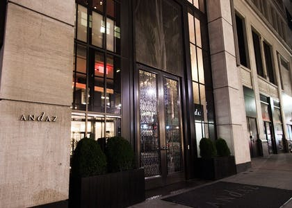 Outside | Andaz 5th Avenue