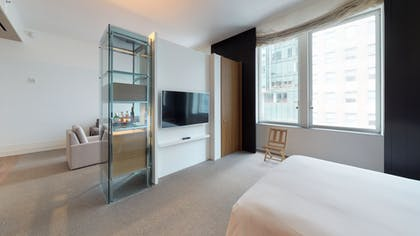 Bedroom & Living area | Loft Suite | Andaz 5th Avenue