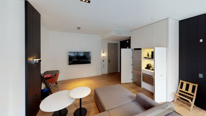 Living area | One Bedroom Terrace Suite | Andaz 5th Avenue