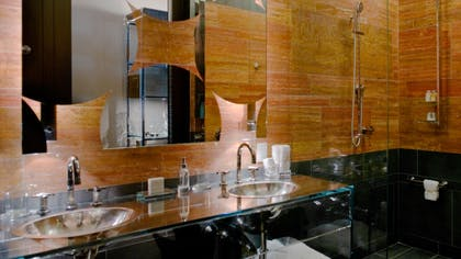 Bathroom | One Bedroom Terrace Suite | Andaz 5th Avenue