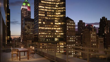 Terrace | One Bedroom Terrace Suite | Andaz 5th Avenue