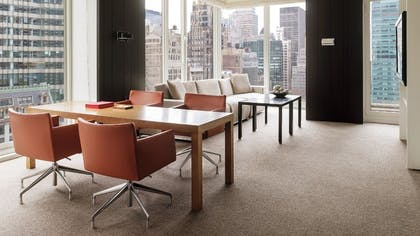 Living Room | Two Bedroom Balcony Suite | Andaz 5th Avenue
