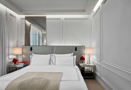 Classic Suite Bedroom | Classic Suite | Baccarat Hotel and Residences New York