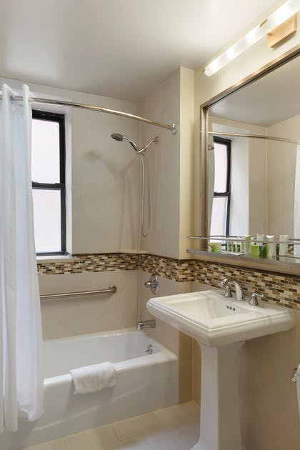 Bathroom | Two Bedroom Apartment Suite | King & Twins | Best Western Plus Hospitality House