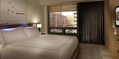 Bedroom 1 | Deluxe Suite with One King Bed | Conrad New York