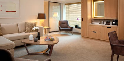 Living Room | Executive Suite with One King Bed | Conrad New York