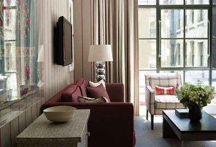 Living Room | Luxury Junior Suite | Crosby Street Hotel