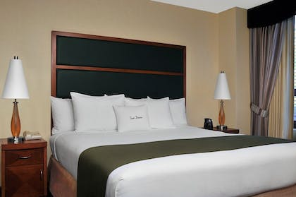 bed.jpg | 1 Kg Bed Std Suite-Liv Rm Sofa Bed-Non Smk | DoubleTree Suites by Hilton New York City - Times Square