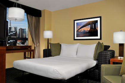 bed_2.jpg | 1 King Corner Suite w/Sofa Bed-Non Smoking | DoubleTree Suites by Hilton New York City - Times Square