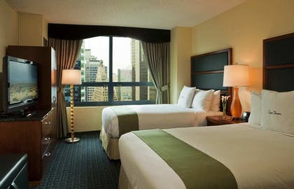 double.jpg | 2 Dbls Premium Suite-Liv Rm Sofa Bed | DoubleTree Suites by Hilton New York City - Times Square