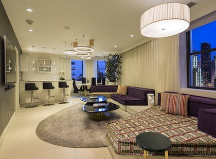 Living Room | One Bedroom Guesthouse | Dream Midtown