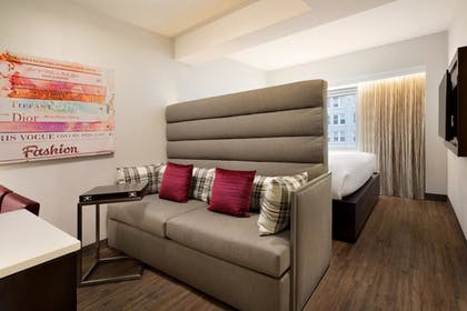 living area.jpg | 1 King Bed Studio | Embassy Suites by Hilton New York Midtown Manhattan