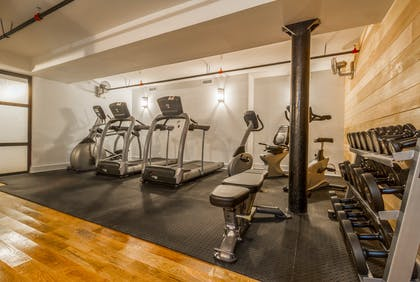 Fitness Center   Franklin Guesthouse