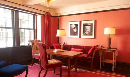 Living room | Gramercy Suite + Gramercy Double Double | Gramercy Park Hotel