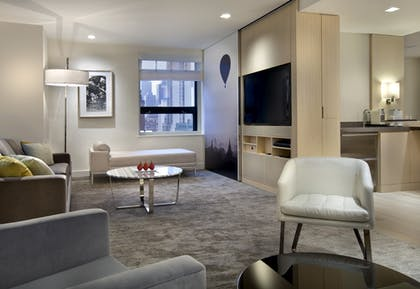 Living Room | Premier Suite | Grand Hyatt New York