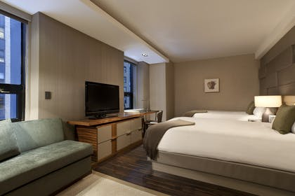 Grand Club Double | Grand City View Suite +Grand Club Doubles | Grand Hyatt New York