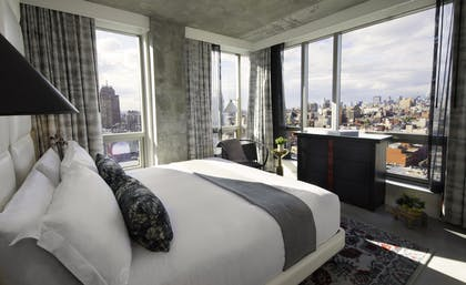 Bedroom View | Bowery Suite | Hotel 50 Bowery NYC