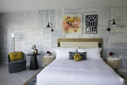 Bedroom    | Kindred Suite | Hotel 50 Bowery NYC