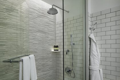 Shower | Kindred Suite | Hotel 50 Bowery NYC