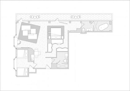 Floor Plan | The Owner's Suite | Hotel on Rivington