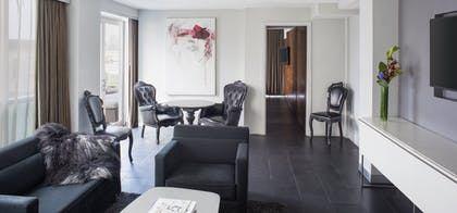 Living Room | The Terrace Suite | Hotel on Rivington