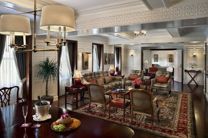 Living Room 2 | Presidential Suite | Hotel Plaza Athenee