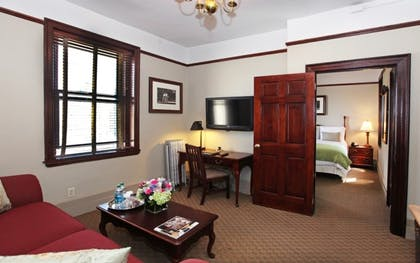 King bedroom & Living area | Two Bedroom Family Suite | Hotel Wales