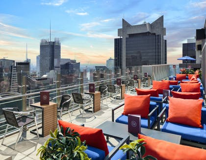 Bar 54 Terrace West View | Hyatt Centric Times Square New York